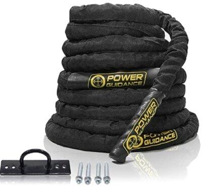 Power Guidance - Migliore corda battle rope per rivestimento in nylon