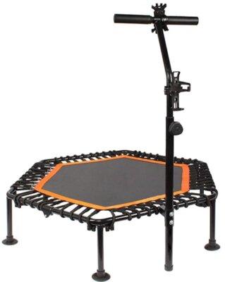 PROMECITY - Migliore mini trampolino elastico da fitness per impugnatura a T regolabile