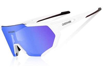 Queshark - Migliori occhiali da running per 3 lenti intercambiabili