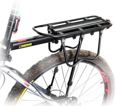 Queta - Migliore portapacchi per bici per struttura cava in alluminio