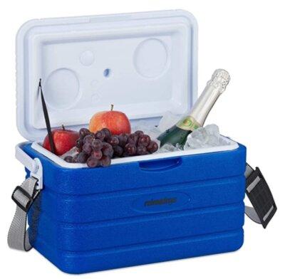 Relaxdays - Migliore borsa frigo rigida per capacità 10 litri