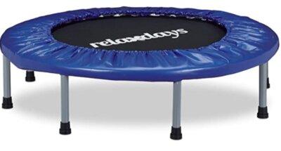 Relaxdays - Migliore mini trampolino elastico da fitness per ambienti interni pieghevole