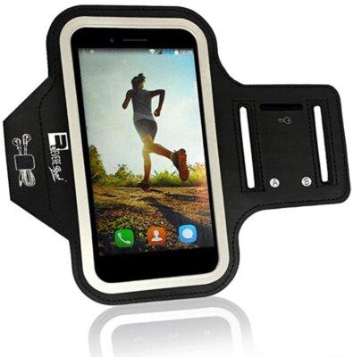 RevereSport - Migliore fascia da braccio per running progettato per Samsung Galaxy Plus