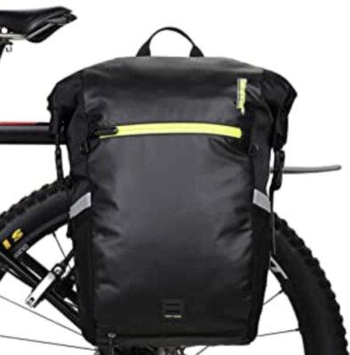 Rhinowalk - Migliore borsa per bici laterale trasformabile in zaino