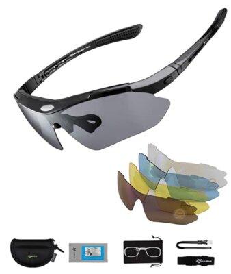 ROCKBROS - Migliori occhiali da running per peso di appena 30 grammi