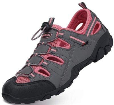 Saguaro - DONNA - Migliori sandali da trekking per similpelle e imbottitura in tessuto