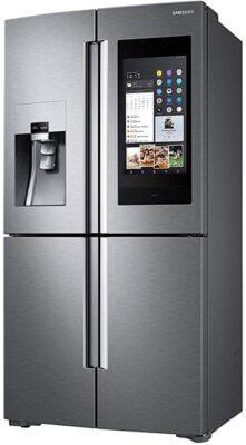 Samsung RF56N9740SR EF - Migliore frigorifero Samsung side by side per fotocamere e pannello multimediale