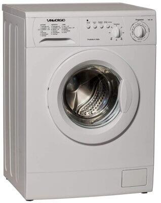 Sangiorgio S5510C - Migliore lavatrice Sangiorgio 7 kg per controlli meccanici