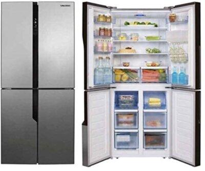 SanGiorgio SQ50NFXD - Migliore frigorifero americano side by side per accessori interni