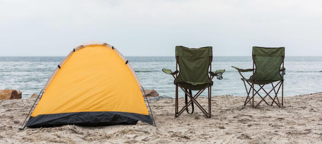 Sedia da campeggio pieghevole