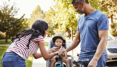 seggiolino bici bambini