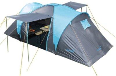Skandika - Migliore tenda da campeggio per cabine letto estraibili