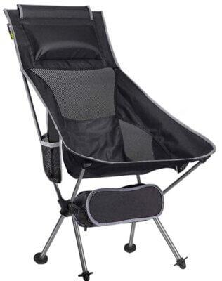 Smartpeas - Migliore sedia pieghevole da campeggio per tappetino da spiaggia o da erba