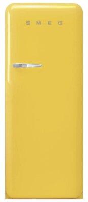 Smeg FAB28RYW3 - Migliore frigorifero Smeg monoporta per design anni '50 giallo