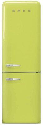 Smeg FAB32RLI3 - Migliore frigorifero Smeg combinato per colore verde lime