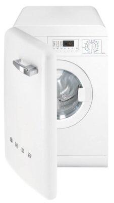 Smeg LBB14WH-2 - Migliore lavatrice Smeg 7 kg per design anni '50