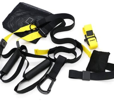 Smile - Migliore TRX e cinghie per sospensione per impugnatura gommata elastica in TPE