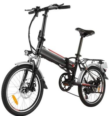Speedrid - Migliore bici elettrica pieghevole per sicurezza durante la frenata