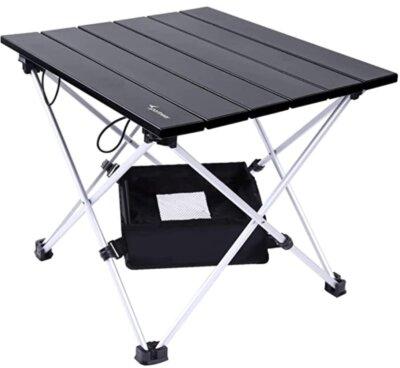 Sportneer - Migliore tavolino pieghevole da campeggio per vano portaoggetti in rete