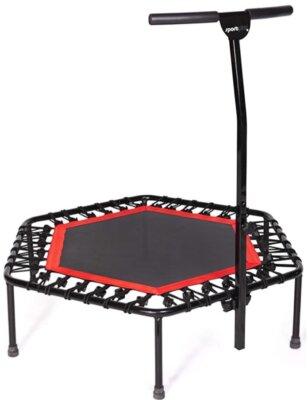 SportPlus - Migliore mini trampolino elastico da fitness per manico rimovibile