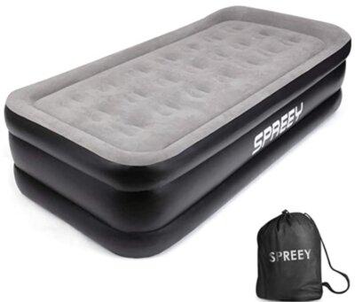 SPREEY - Migliore materasso gonfiabile singolo per bobine air-core