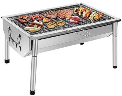 SunJas - Migliore barbecue a carbonella per resistenza alle alte temperature