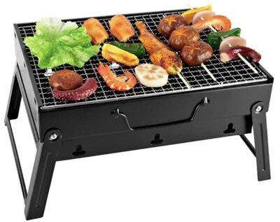 SunJas - Migliore barbecue da tavolo economico per leggerezza