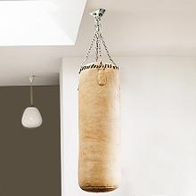 supporto per sacco da boxe da soffitto