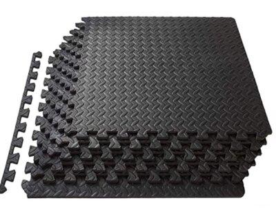 Swonuk - Migliore pavimento in gomma per palestra per coprire 1,8 metri quadri