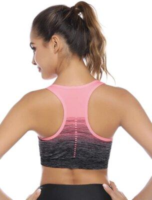 Sykooria - Migliore reggiseno sportivo da fitness per spalline larghe