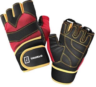 TAVIALO - Migliori guanti da palestra per rinforzo al polso