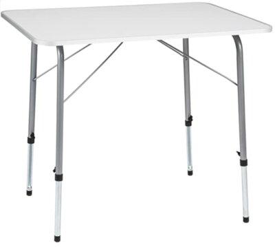 TecTake- Migliore tavolino pieghevole da campeggio per gambe telescopiche