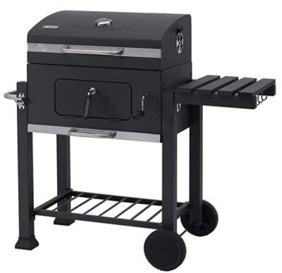 Tepro - Migliore barbecue a carbonella per ripiano laterale ribaltabile con ganci