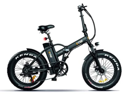 THE ONE - Migliore bici elettrica pieghevole per pneumatici tassellati