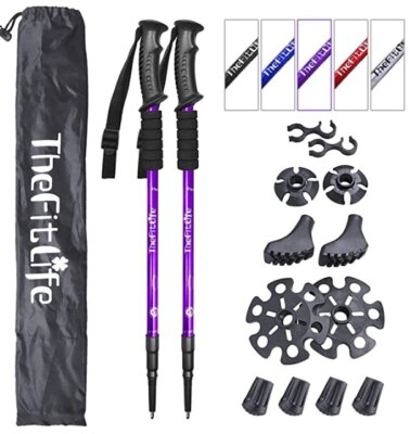 TheFitLife - Migliori bastoncini da trekking per effetto ammortizzante