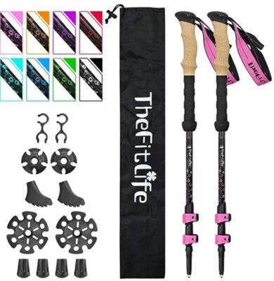TheFitLife - Migliori bastoncini da trekking per set completo