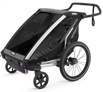 Thule - Migliore rimorchio bici per bambini per attività sportive