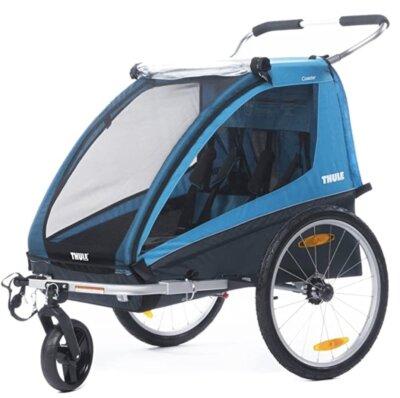 Thule - Migliore rimorchio bici per bambini per struttura pieghevole
