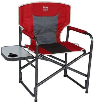 Timber Ridge- Migliore sedia pieghevole da campeggio per altezza da terra 47 cm