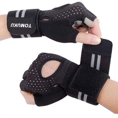 Tomuku - Migliori guanti da palestra per cinturini in velcro