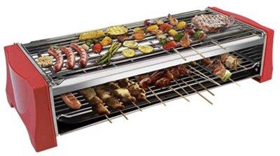 Tonze - Migliore barbecue da tavolo elettrico per doppia griglia