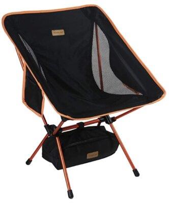 Trekology - Migliore sedia pieghevole da campeggio per supporto lombare