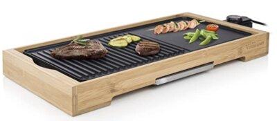 Tristar - Migliore piastra barbecue elettrico per struttura in bambù