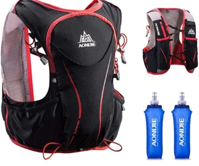 Triwonder - Migliore zaino da trail running per l'idratazione per borracce BPA free