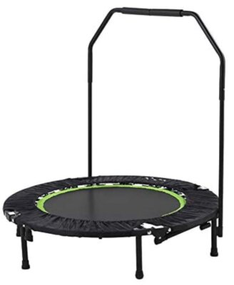 Tunturi - Migliore mini trampolino elastico da fitness per manico con gommapiuma antiscivolo