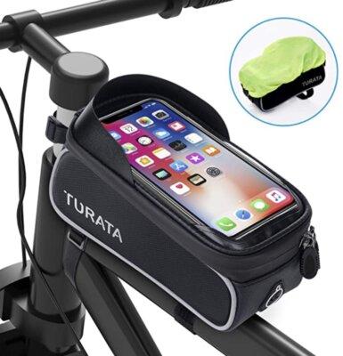 Turata - Migliore portaoggetti da bici per porta smartphone