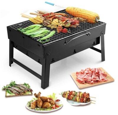 Uten - Migliore barbecue da tavolo economico per chiusura a valigietta