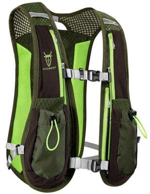 UTOBEST - Migliore zaino da trail running per l'idratazione per 6 tasche multifunzione e fischietto