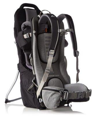 Vaude - Migliore zaino porta bambino da montagna per aderenza alla schiena impeccabile