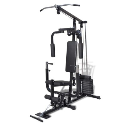 vidaxl - migliore panca e stazione fitness multifunzione con sedile alto 54 cm